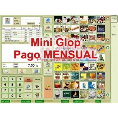 Licencia Glop MINI pago mensual