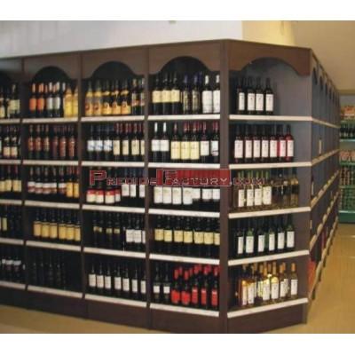 Mueble bodega para vinos 610x550x2200 mm
