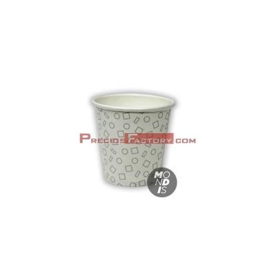 Vasos de cartón 2.5 oz - 73 ml para bebidas frias y calientes ( por su pequeño tamaño, recomendable en centros hospitalarios)