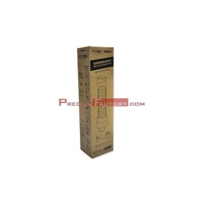 Dispensador para vasos desechables de diámetro 3.6 a 7.5 cm