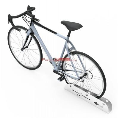 Parking soporte para aparcamiento de bicicletas en acero inoxidable