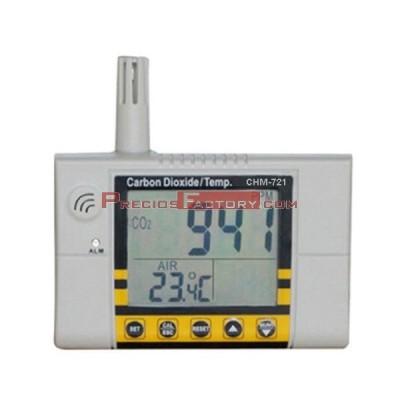 Medidor CO2 y temperatura, CHM-721