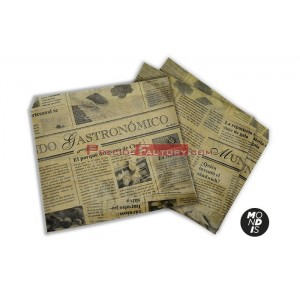 Bolsa papel kraft, 100 ud. BPA016
