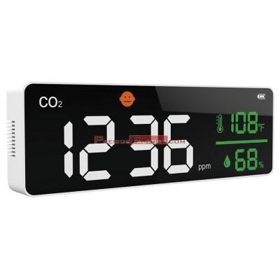 Panel medidor de CO2 monitor de calidad del aire mural / sobremesa