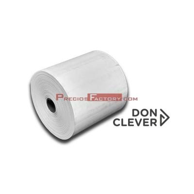 Rollo de papel térmico 80x80 mm. Caja de 10 paquetes de 5 ud