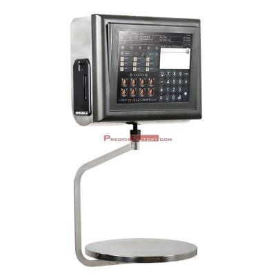 Balanza PC colgante en acero inoxidable con impresora y pantalla táctil de 12 pulgadas