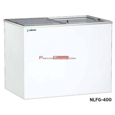 Congelador horizontal puerta de cristal. NLFG-195