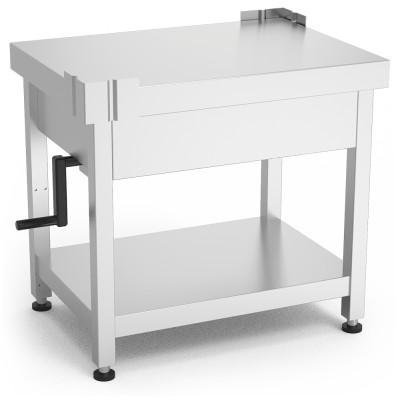 Mesa para maquinaria con sistema de elevación