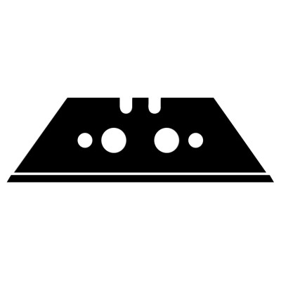 Cuchilla para cutter con cierre seguridad (metal detectable)
