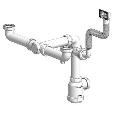 Válvula de desagüe splus modelo doble