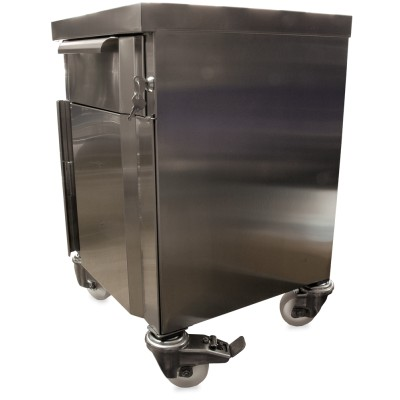 Acoplar 4 ruedas a boxes modulares
