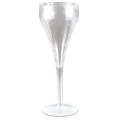 Copa de champagne o cava de policarbonato transparente