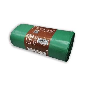 Bolsa de basura 110x140 verde galga 130