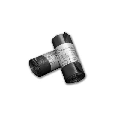 """Bolsa de basura 85x105 negra industrial """"suprema 140"""" BD con tecnología tricapa y anti goteo para cubos de 100 litros"""