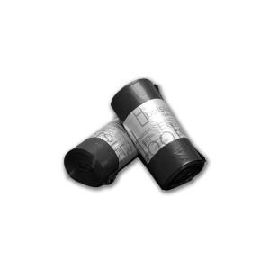 """Bolsa de basura 85x105 negra industrial """"suprema 170"""" BD con tecnología tricapa y anti goteo para cubos de 100 litros"""