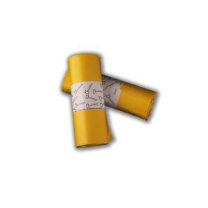 Bolsa de basura 85x100 AD,amarilla, galga 90
