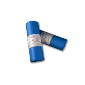 Bolsa de basura 85x100 AD,azul, industrial para cubos de 100 litros