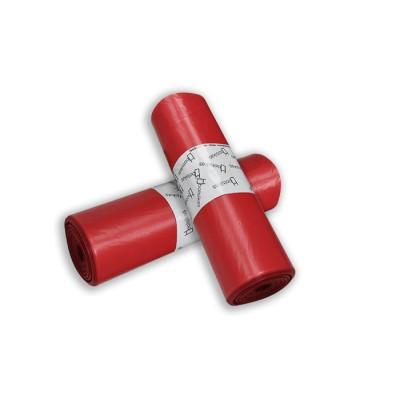 Bolsa de basura 85x100 roja,galga 100