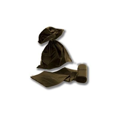 Bolsa saco de 40x50 de color negro en galga 250