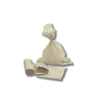 Bolsa saco de 40x50 de color blanca en galga 250