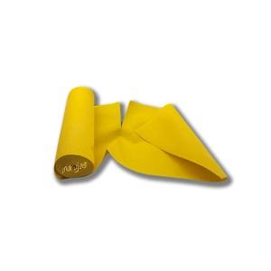 Rollo de bayeta de 8 mts, de fibra amarilla con pre-corte