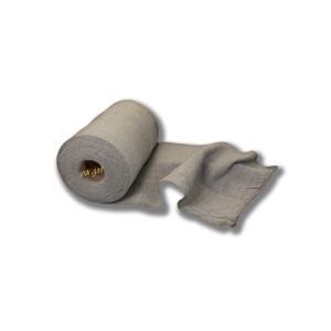 Rollo de bayeta de 2,5 kg, de punto de color gris económico, especial para cocinas para cortar al tamaño deseado