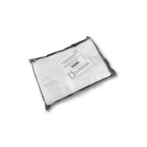 Bolsa 17x25 para el envasado al vacío de embutido, carnicería, pescado, etc Caja de 10 paquetes de 100 bolsas