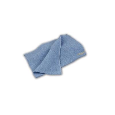 Bayeta cortada de 35x40, de punto de color gris, económico y cosida por los laterales