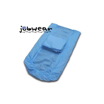 Sabana ajustable de un solo uso en polipropileno de 33 gr/m2 con las medidas 220x80 cm