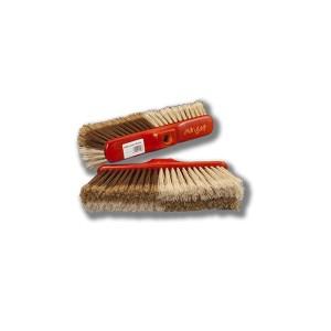 Cepillo de barrer de 28 cm, modelo hiedra, de alta calidad y bloque de madera