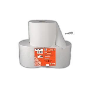 Celulosa Industrial King Size pasta 100% virgen Laminada, de 2 capas, las cuales están encoladas y dan mayor resistencia