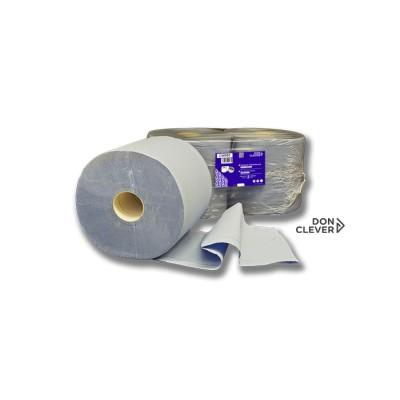 Celulosa Industrial Azul Laminada, de 3 capas, las cuales están encoladas y dan mayor resistencia