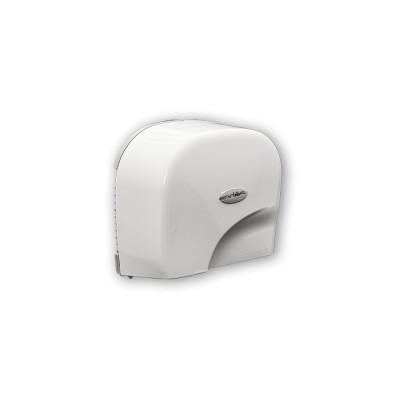 Seca-manos de aire óptico modelo Teyde con carcasa de policarbonato de color blanco de gran resistencia