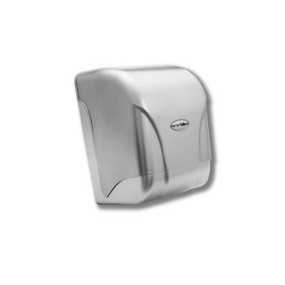 """Dispensador para rollo seca-manos o mecha modelo Teyde de color """"acero líquido"""" fabricado en policarbonato"""
