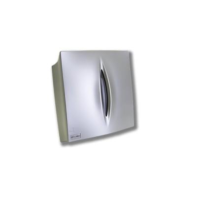 """Dispensador para toalla zigzag modelo Elite, fabricado en abs de color """"acero líquido"""" con llave"""
