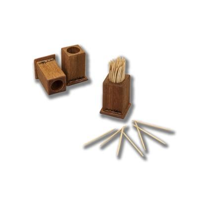Palillero fabricado en madera de pino lacado