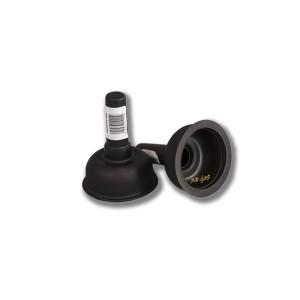 Desatascador de 9 cm diámetro, mini liso, especial para fregadores, lavabos y espacios reducidos
