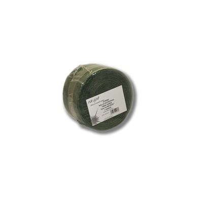 Rollo estropajo de 6 mts x15 cm, de fibra verde súper resistente, similar a Scotch-Brite
