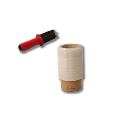 Film 300grs/bobina para paletizar mini de 10 cms
