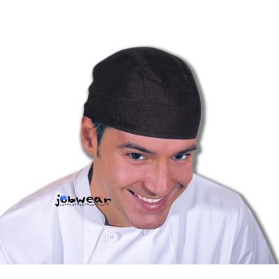 Gorro pirata ajustable de color negro