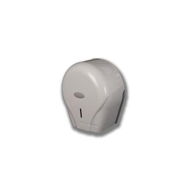 Porta-rollo modelo Teyde de policarbonato en color blanco y cierre con llave
