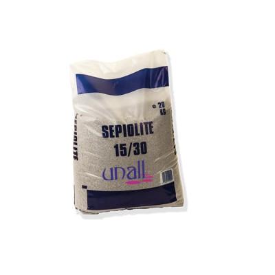 Sepiolita, absorbente para todo tipo de derrames o fugas de líquidos (agua, disolventes, gas-oil, ect