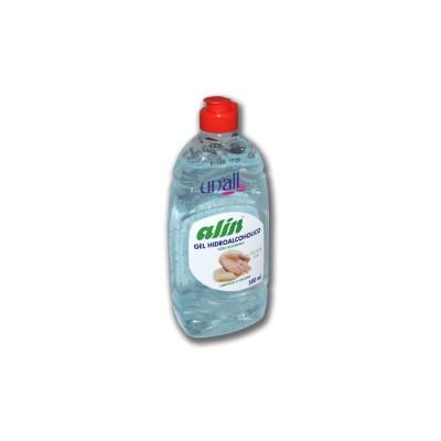Gel hidroalcohólico desinfectante para manos con tapón