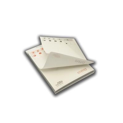 Talonario o bloc de comandas 10 x15 cm duplicado de 50 servicios con papel autocopiativo