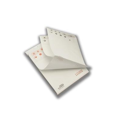 Talonario o bloc de comandas 10 x 15 triplicado de 50 servicios con papel autocopiativo