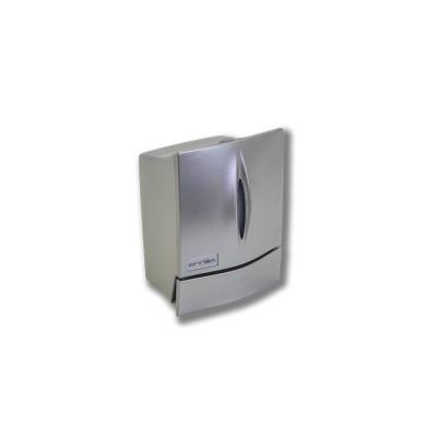 Dispensador de jabón modelo Elite, fabricado en abs con componentes de acero inoxidable