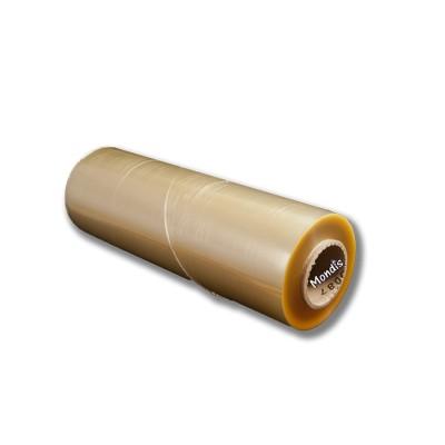Film alimenticio 1500 mts de largo 8 micras 45 cms de ancho industrial de color champagne