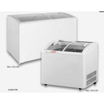 Congelador GLASS-TOP TAGA 290, 370 y 520