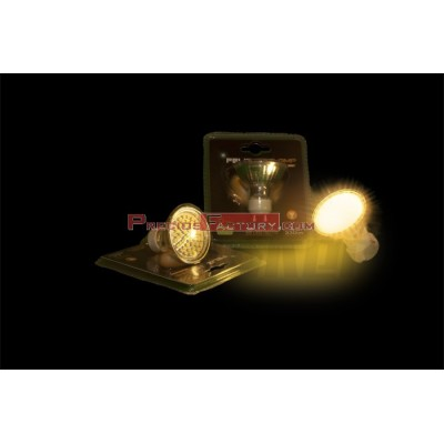Dicroica led GU10 DE 5w luz cálida 2700ºK - 6 ud