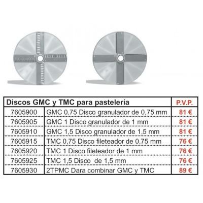DISCO GRANULADOR GMC0,75